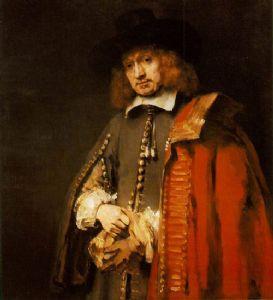 Jan Six door Rembrandt (1654)