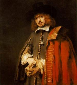 Portret Jan Six door Rembrandt